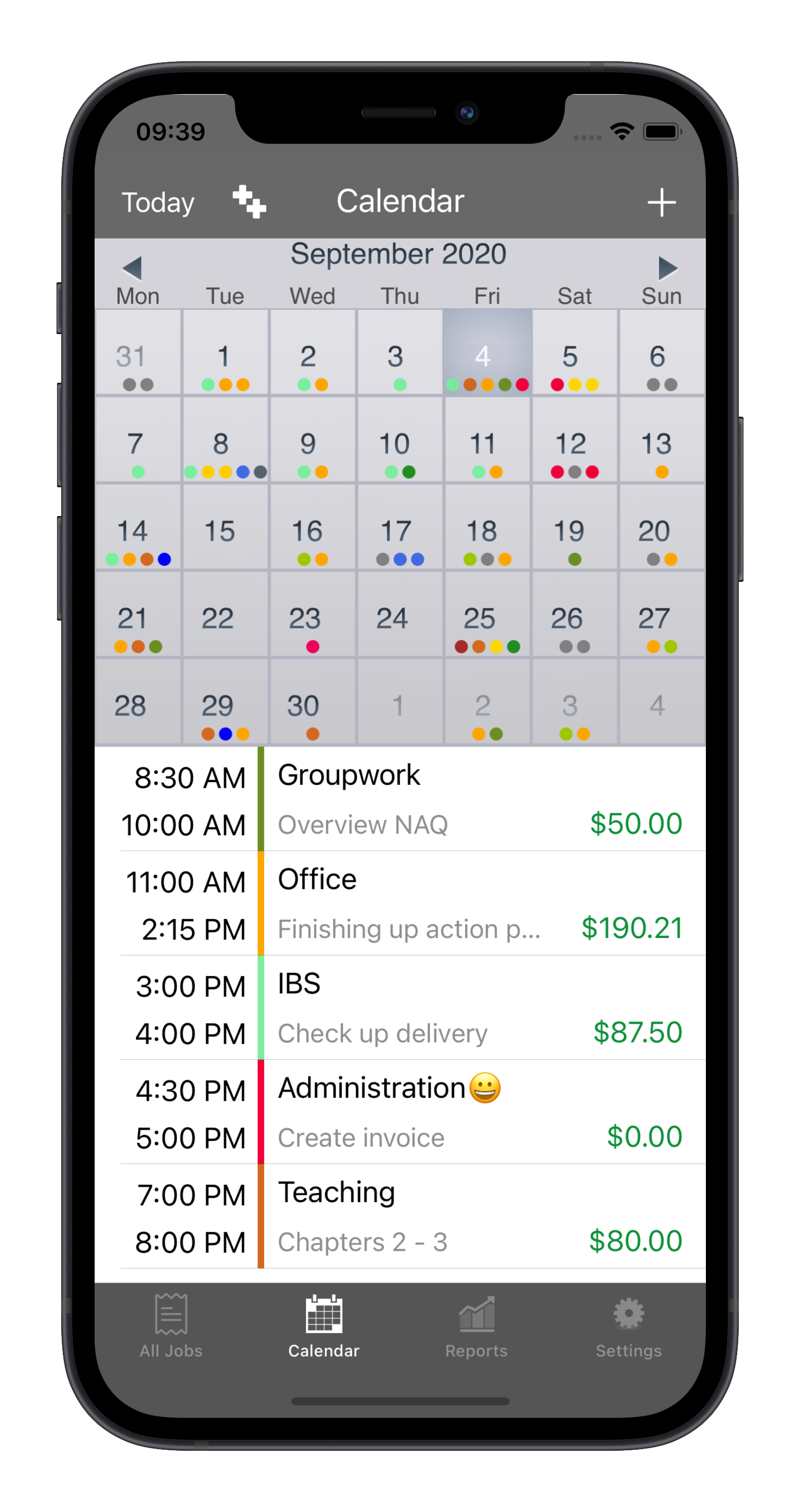 Timesheet and Hours tracker app, track your work hours